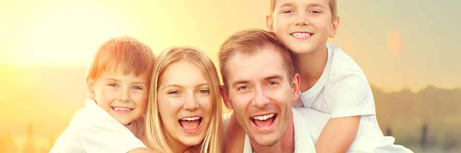 composite bonding in Fort Collins - Smiling Happy Family