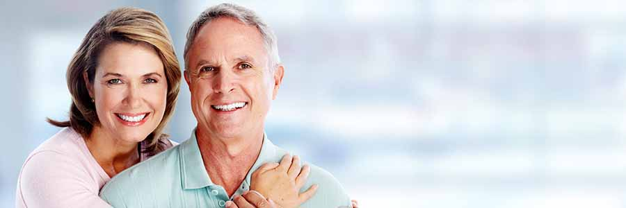 Fort Collins dental implants - couple smiling
